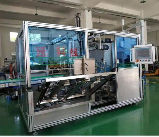 PE Bottle Pet Bottle Glass Bottle Bagged or Boxed Products Translation Case Packer Case Packing Machine