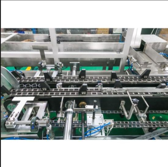 Automatic Drop Type Case Packer for Cans or Bottles